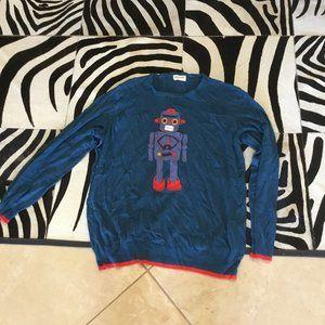 Modcloth Sugarhill Robot sweater size 3x New